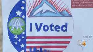 Young Student Help Design New 'I Voted' Stickers [Video]