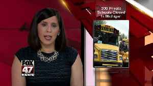 Private school numbers are dwindling [Video]