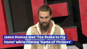 Jason Momoa's Inspiring Story To Riches [Video]