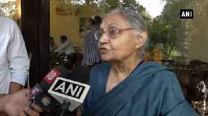 'Won't let Rahul Gandhi quit as Congress pres': Sheila Dikshit [Video]