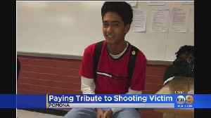 Calls To Gun End Violence Ring At Vigil Held For Teen Shot At Graduation Party [Video]