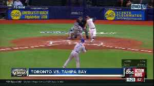 Austin Meadows and Avisail Garcia homer in Tampa Bay Rays 3-1 win over Toronto Blue Jays [Video]