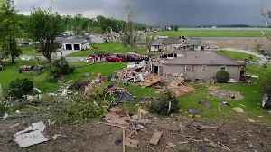Drone footage shows tornado devastation in US [Video]