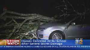 Sussex County School Closed Due To Storm Damage [Video]