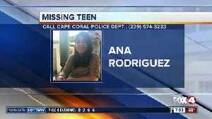Cape Coral teen Ana Rodriguez reported missing [Video]