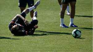 Neymar Injured In Brazil Training [Video]