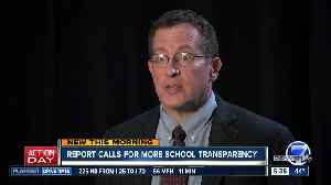 Report calls for more school transparency [Video]