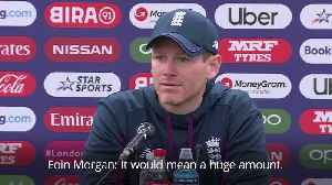 Eoin Morgan 'couldn't imagine' what World Cup win would do for English cricket [Video]