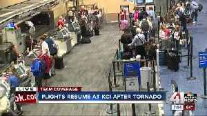 Several early morning flights canceled at KCI [Video]