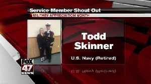 Yes Squad - Service Member Shout Out - Todd Skinner [Video]