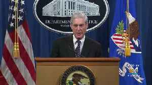 Special Counsel Robert Mueller Addresses Russia Probe For First Time [Video]