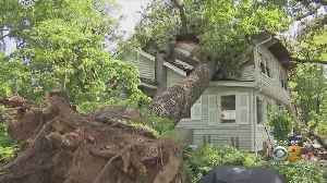 Dangerous Storm Damages Homes In Morris County [Video]