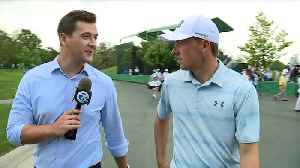 Jordan Spieth talks with WXYZ Detroit's Brad Galli [Video]