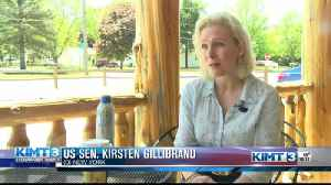 Kirsten Gillebrand visits Mason City [Video]