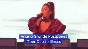 Ariana Grande Has To Move Dates Around For Sweetener World Tour [Video]