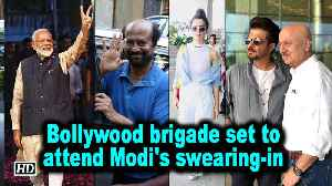 Bollywood brigade set to attend Modi's swearing-in [Video]