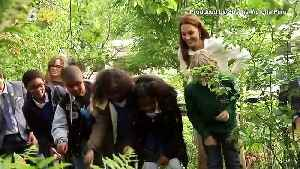 Kate Middleton is Designing Another Garden [Video]