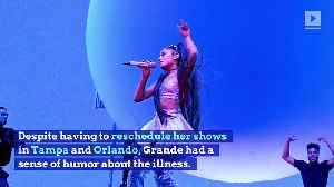 Ariana Grande Cancels Tour Dates After Allergic Reaction to Tomatoes [Video]