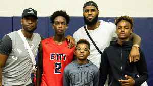 Zaire Wade, LeBron James Jr. Reportedly Forming New Superteam in High School [Video]