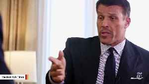 Tony Robbins' Book Shelved After Misconduct Claims [Video]