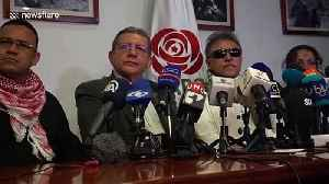 First press conference after former FARC rebel leader is freed in Colombia [Video]