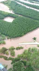 Aerial Video Shows 'Near-Record' Flooding Along Grand River in Missouri [Video]