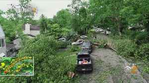 Widespread Storm Damage In New Jersey [Video]