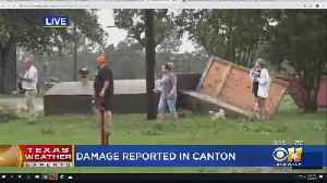 People Emerge From Storm Shelter In Canton [Video]