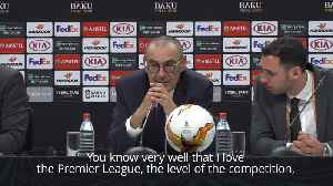 Chelsea boss Sarri discusses future with the club [Video]