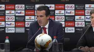 Unai Emery optimistic for Arsenal's future after Europa League final defeat [Video]
