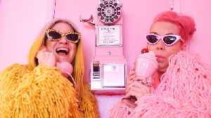 The Besties Obsessed With Pink & Yellow [Video]