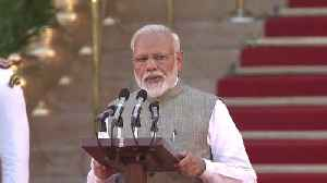 Narendra Modi takes oath as PM of India for second term [Video]