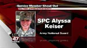 Yes Squad - Service Member Shout Out - Quentin Nace & Austin & Alyssa Keiser [Video]