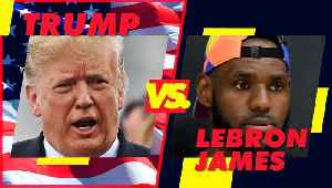 Donald Trump is not on Lebron James' team [Video]