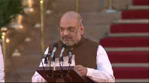 BJP strategist Amit Shah takes oath, joins PM Modi's cabinet [Video]