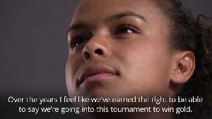 Nikita Parris: England are confident of World Cup glory [Video]