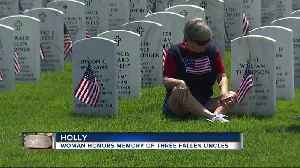 Memorial Day Ceremony In Holly For Service Members Killed Defending Freedom [Video]