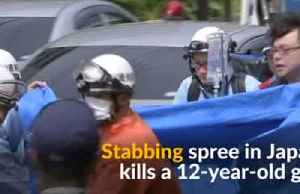 Two killed, 15 schoolgirls injured in a knife attack in Japan [Video]