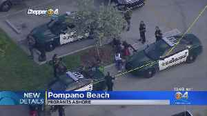 Homeland Security Investigating Migrants On Pompano Beach Shore As Possible Human Smuggling Operation [Video]