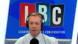 Nigel Farage Tells LBC He'd Pick A General Election Over A 2nd Ref [Video]