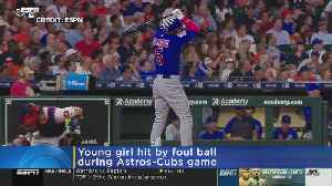 A Foul Ball From The Astros And Cubs Game Hits Little Girl [Video]