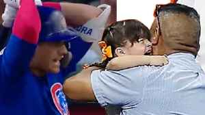 Cubs Albert Almora Jr SOBBING & Completely Distraught After His Foul Ball Hits Little Girl In Stands [Video]