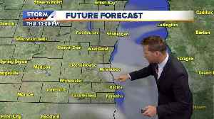 Showers dissipate Thursday afternoon [Video]