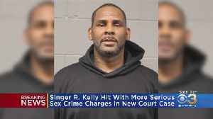R. Kelly Hit With More Serious Sex Crime Charges In New Court Case [Video]