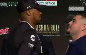 'It's up to me to outskill, outstrength and outmuscle Andy Ruiz to get that win,' - Anthony Joshua [Video]