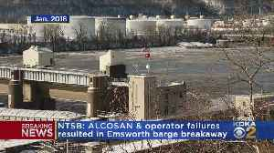 Federal Report Outlines Issues In Last Years Ohio River Barge Breakaway [Video]