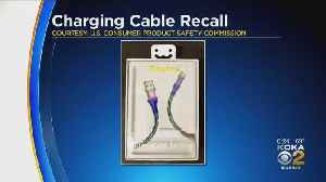 More Than 90,000 USB Chargers Recalled [Video]