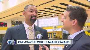 One-on-one with new Michigan head coach Juwan Howard [Video]