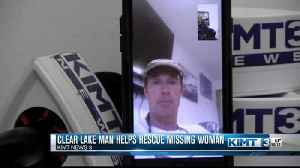 Clear Lake man helps rescue missing Hawaii hiker [Video]