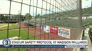 'We stress fan safety here': Mallards management reacts to girl hit by foul ball [Video]